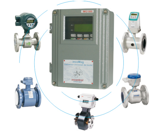 Conversor Universal para medidores magnético de qualquer fabricante