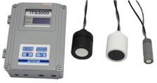 Medidor ultrassônico de nível e de vazão