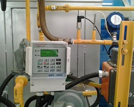 Medidor de vazão para gáses, óleos e combustiveis