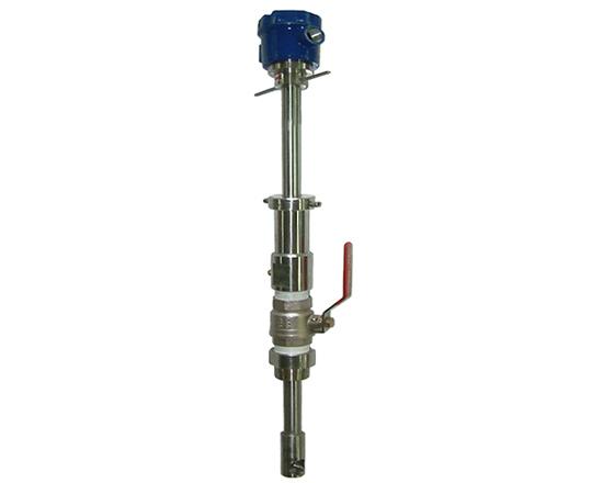 Medidor de flujo turbina de inserción