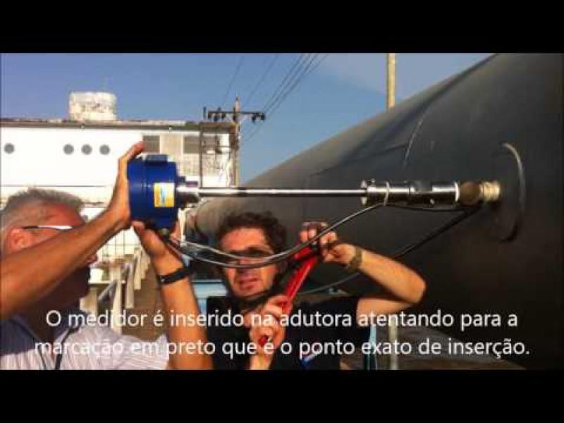 Medidor de Vazão Magnetico de Inserção no Rio Amazonas 2