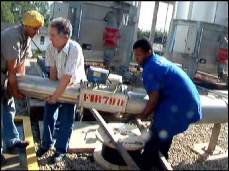Medidor de Vazão para Biogás