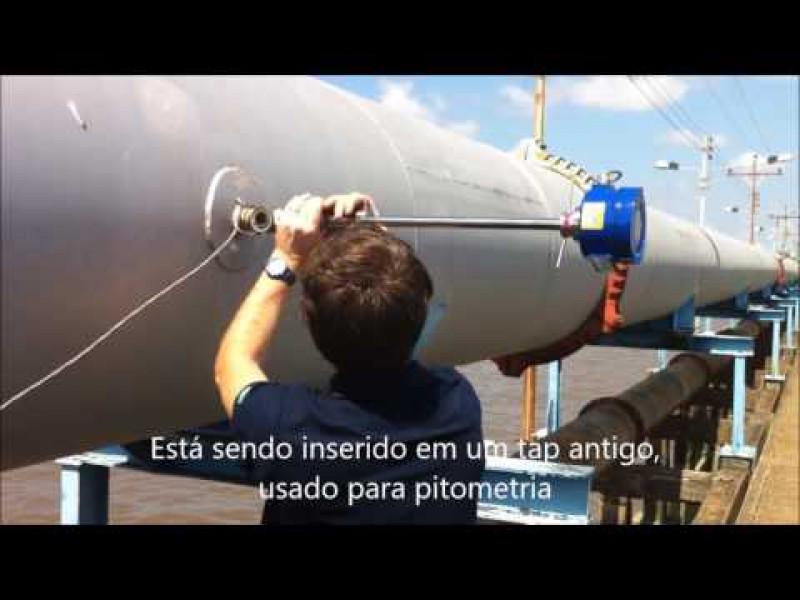 Medidor de Flujo Magnético de Inserción en el Río Amazonas 1