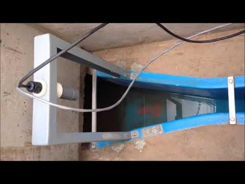 Canal Parshall en universidad reduce el cobro de alcantarillado